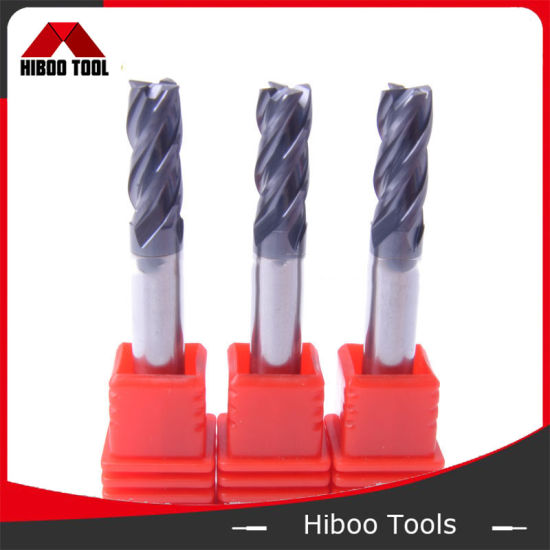 Good Performance Tungsten Milling Cutters Carbide End Mill