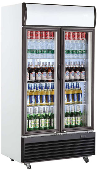 Store Display Beer Cooler Beverage Chiller with Ce/CB/RoHS/ETL/Meps (LG-1400BF)