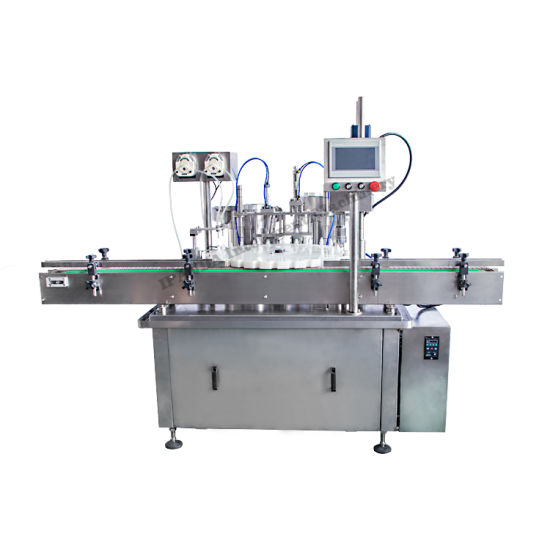 Essential Oil Glass Bottle Filling Labeling Machine/Automatic Essential Oil Filling Equipment