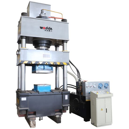 400 Ton Automatic Stainless Steel Water Tank Plate Metal Stretching Molding Pressing Forging Four Column Hydraulic Oil Press Machine