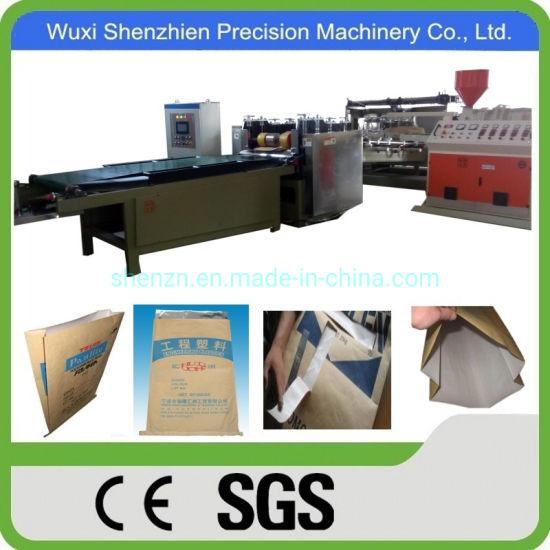 Kraft Paper Adhering HDPE Bag Making Machine