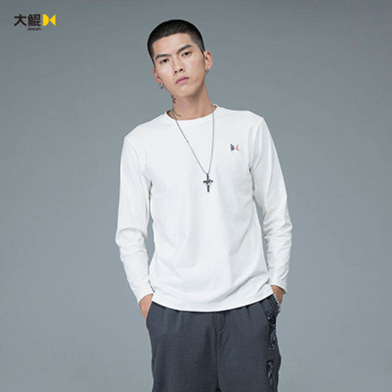Chinese Famous Brand Dakun Leisure Fashion Style Knit Shirt Clothes