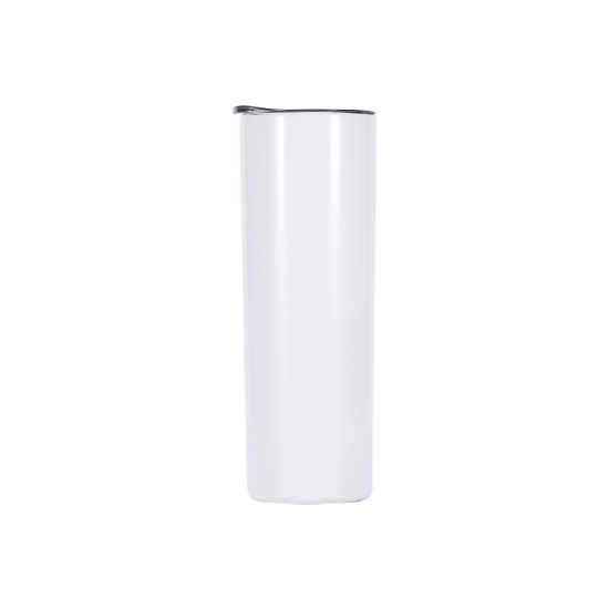20oz Skinny Sublimation Blanks Tumblers Vacuum Insulated Slim Tumbler