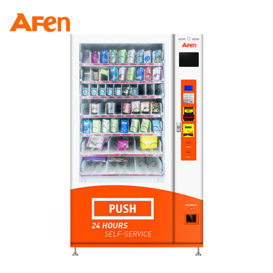 Afen Automated Retail Adult Toys Sex Products Flower Vending Machine to Combine Cell Cabinet