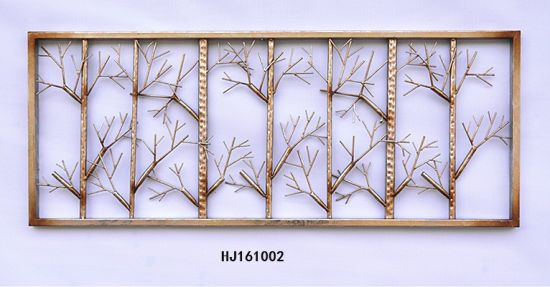 Rectangle Fancy Tree Frame Wall Decor