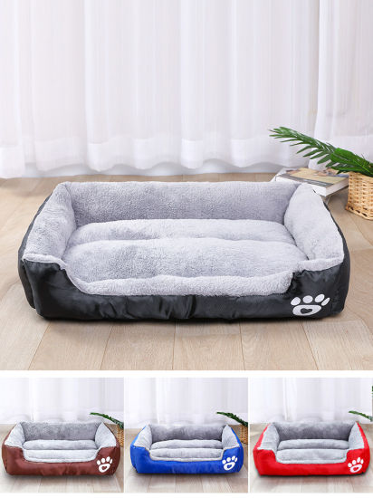Pet Sofa Bed Dog Cat or Puppy Memory Foam Mattress Comfortable Couch for Pets with Removable Washable Cover
