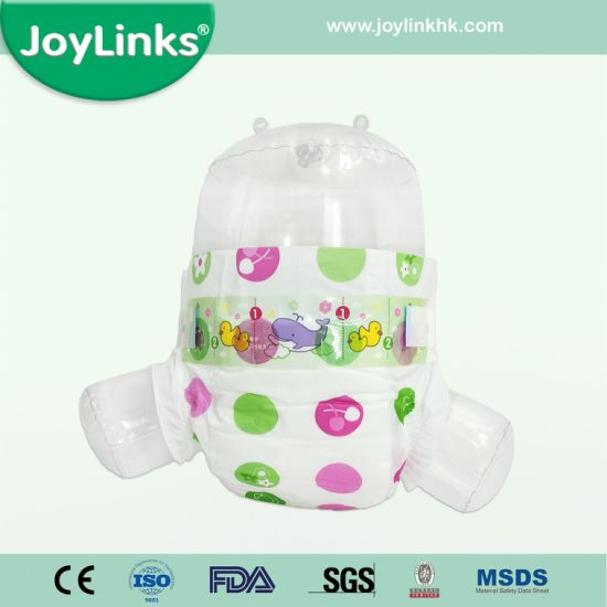 Disposable Baby Diapers With PP Sticky Tape