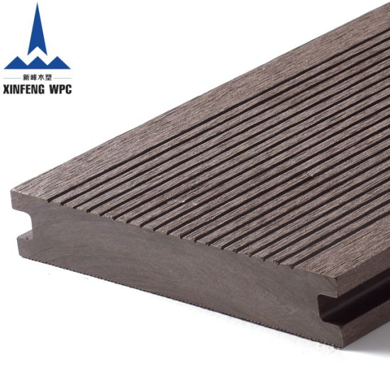 Moisture Resistant and Impact Resistant WPC Solid Decking