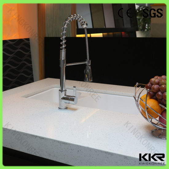 Kkr Artificial Marble Solid Surface Counter Top Kitchen Bathroom Vanity Stone Countertop