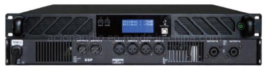 Professional DSP Digital Power Amplifier High Powerful Line Array Speaker Amplifier