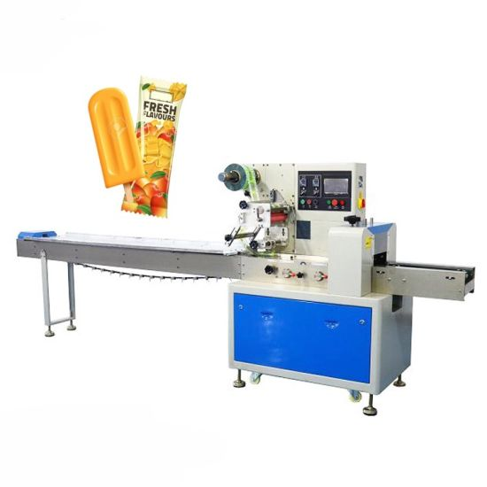 High-Quality Chinese Factory Produces Multifunctional Automatic Horizontal Pillow Type Mobile Biscuit Packaging Machine