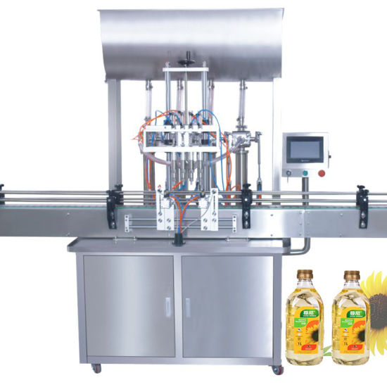 Factory Price Automatic Cooking Oil Liquid Filling Machine Line Wholesale
