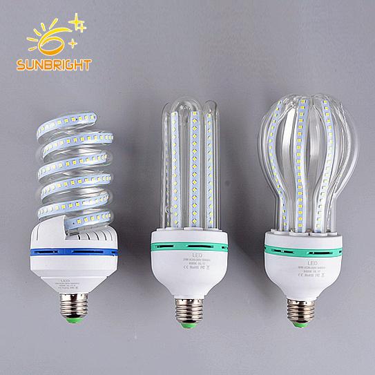 Wholesale LED Saving Lamp 9W E27 LED Spiral Light