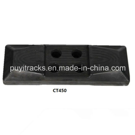 Excavator Chain Mount Rubber Pad 450mm pictures & photos