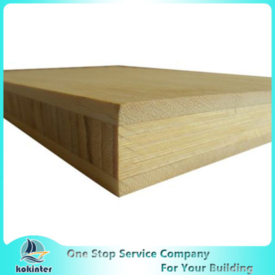 H/I Shape 6.5-7mm Natural Bamboo Panel for Worktop Countertop and Furniture/Skateboard/Cabinet/Floor