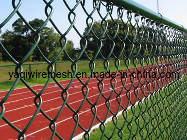 China Manufacturer of 3mm 50mm*50mm Galvanized Chain Link Fence