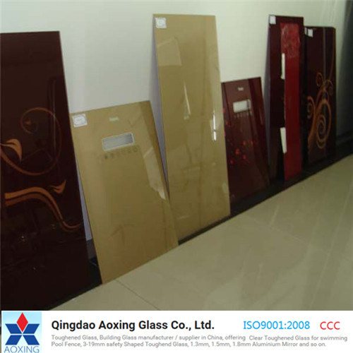 Silk-Printed Glass/Silkscreen Printed Glass with Ce pictures & photos