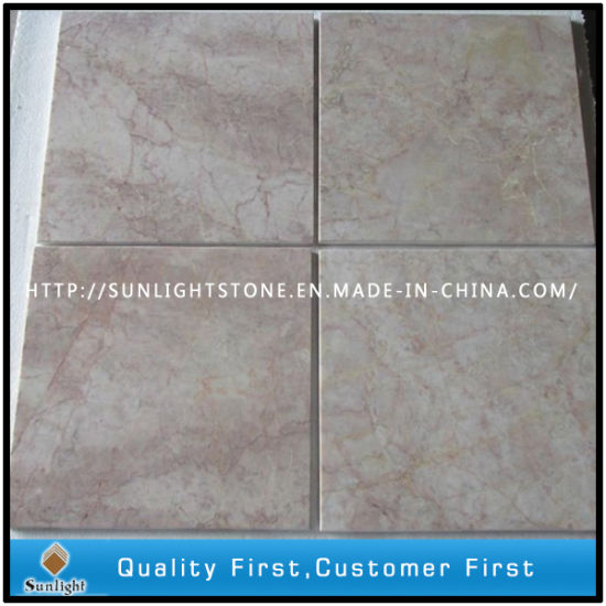 Cheap China Red Cream Marble For Kithen Flooring Wall Tiles