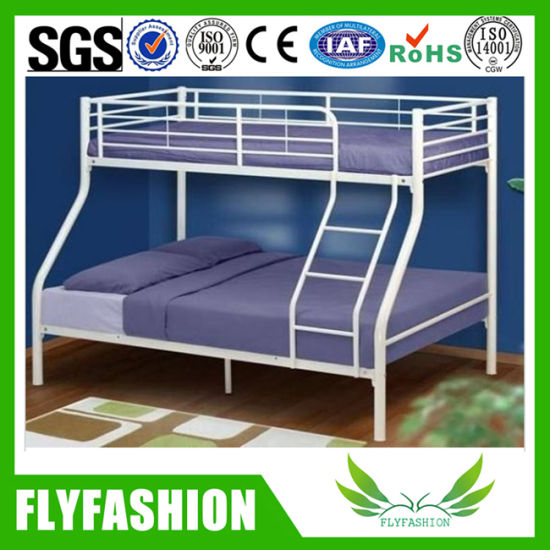 China Factory Price Double Parent Child Bed Metal Bunk Beds Bd 66 China Bunk Bed Double Bunk Bed