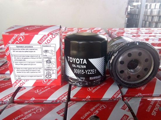 Wholesale Factory Price Car Spare Parts 90915-Yzze1/90915-10001 Auto Oil/Air/Cabin/Fuel Filters for Toyota