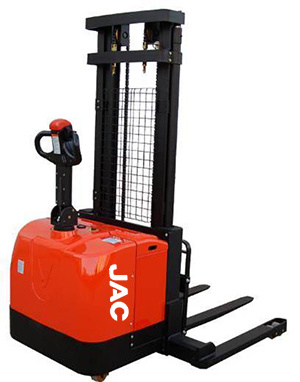 Stacker with Battery