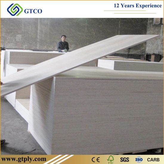 1220*2440*6mm 15mm 18mm E0 Glue Furniture Grade Poplar Core Birch Plywood