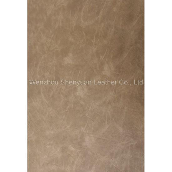 PU Leather Yangbuck Leather (C-220-5)
