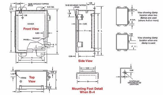china nema type 13 ip54 14 gauge steel with powder coated continuous hinge indoor used