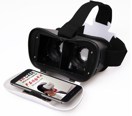 "New Arrival High-End Vr Box 3D Glasses for 4.7-6.0"" Mobile"