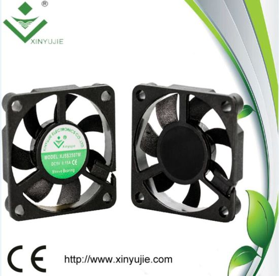 3507 12V Small Air Cooling Fan 35X35X7.5mm pictures & photos