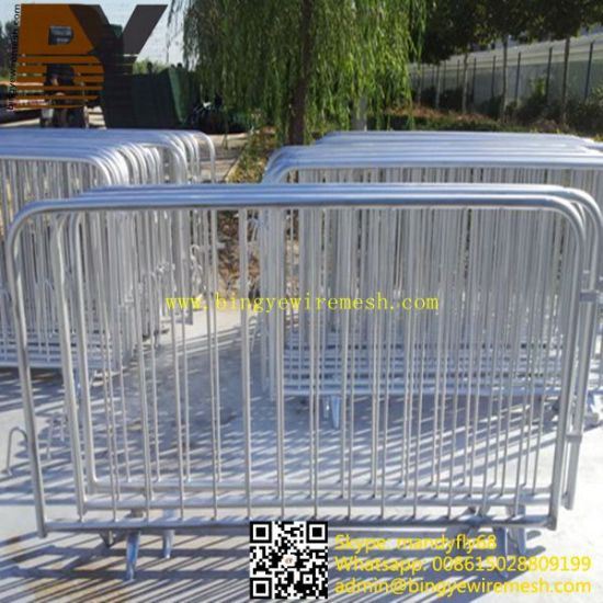Galvanized Crowd Control Barriers/Crowd Control Barriers pictures & photos