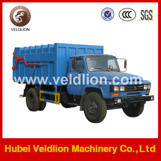 4X2 LHD Dongfeng Compactor Garbage Truck pictures & photos