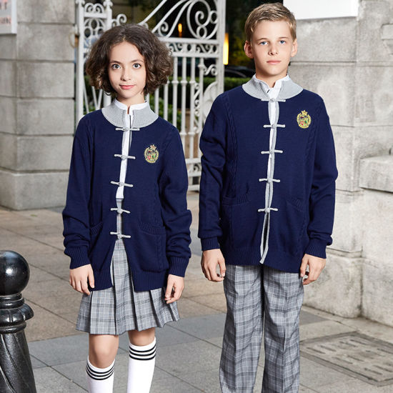 363449d92752 China Sweater Designs for Kids Hand Knitted School Uniform - China ...