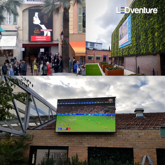 Full Color Indoor Outdoor Media Front Service LED Display Screen
