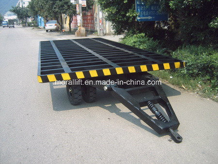 Pulling Type Hydraulic Car Trailer Trolley pictures & photos
