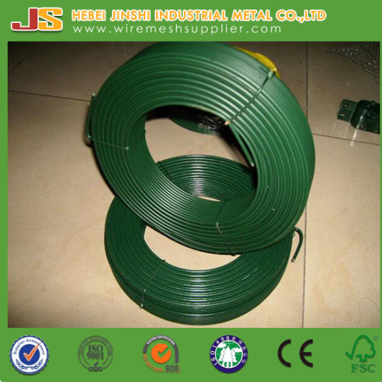 High Quality Green PVC Coated Wire pictures & photos