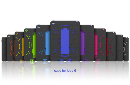 Very Hot Selling Rotating Case for iPad6 (SI109YF)