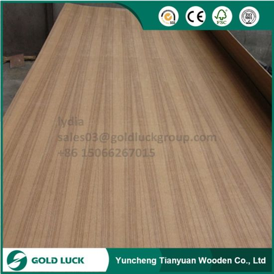 15mm WBP Phenolic Glue Teak Veneer Marine Plywood pictures & photos