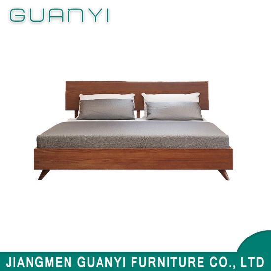 Good Quality Latest Double Bed Designs / Bed Design / Modern Home Bedroom  Furniture