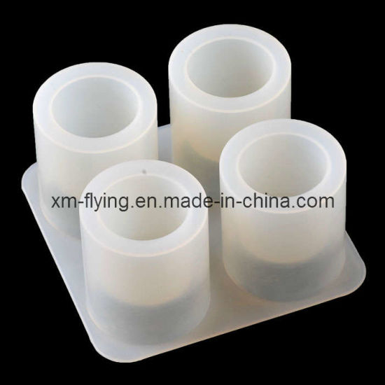 China Food Grade Non-Stick Silicone Shot Glass Ice Molds for Whiskey