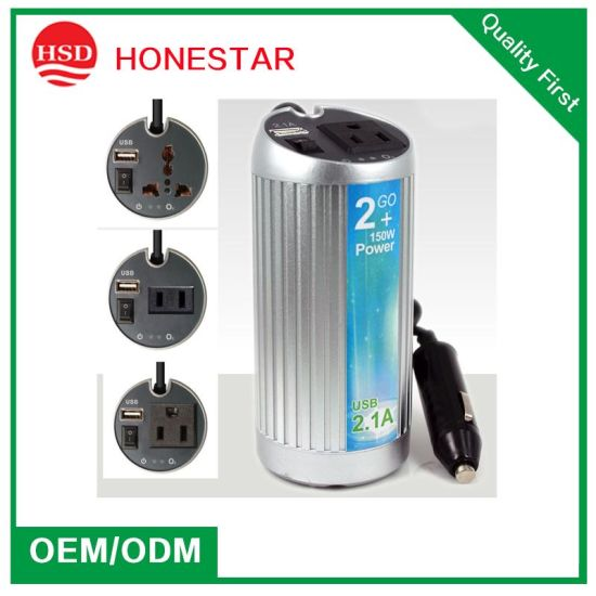 Full Metal High Quality Auto/Car Inverter 110V/220V pictures & photos