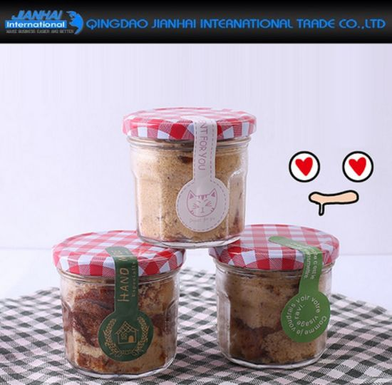 100ml Gl Honey Container With Cover For Wedding Gifts