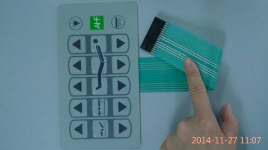 Customize Waterproof Flexible Medical Membrane Switch pictures & photos