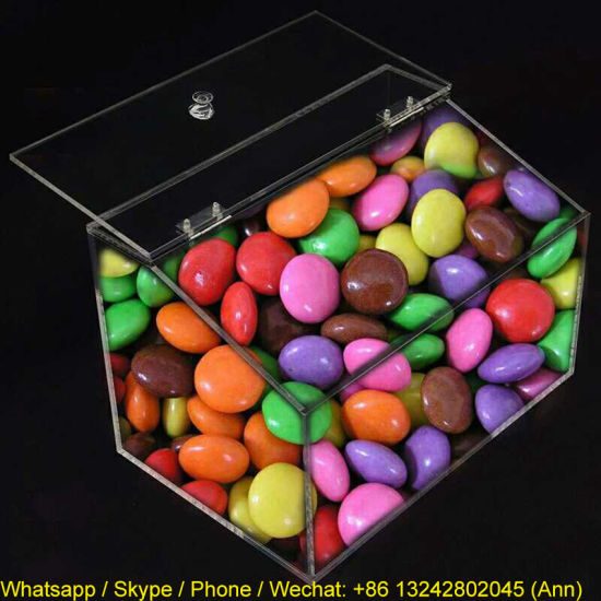 Hot Sale Clear Acrylic Candy Box pictures & photos