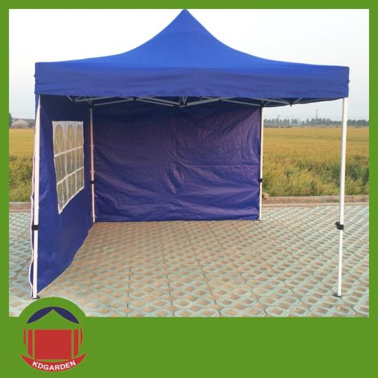 10x10 Metal Gazebo With Canvas Top