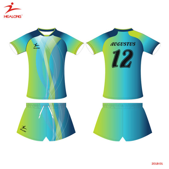 e29380cf8 Healong Top Sale Sportswear Design Team Volleyball Jersey pictures   photos