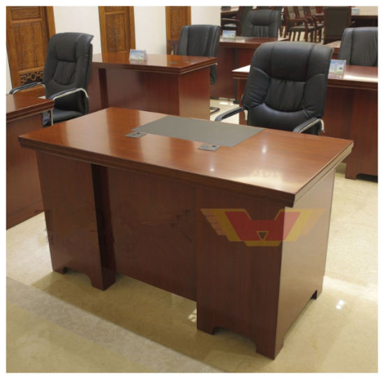 Whole Wood Veneer Office Staff Table For Furniture