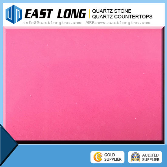 Pure Bright Polished Quartz Composite Stone Deep Color Engineered Colour Pictures