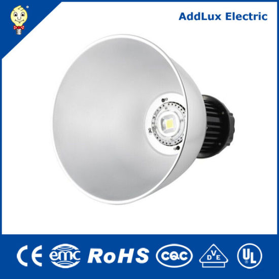 100W CE UL Industrial IP65 COB LED High Bay Light