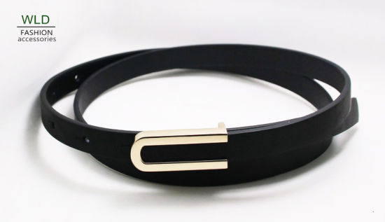 Fashion Lady's Belt with Simple Buckle Ky6309